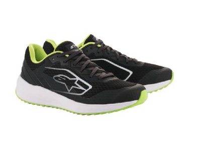 Обувки META ROAD SHOES BLACK WHITE GREEN ALPINESTARS