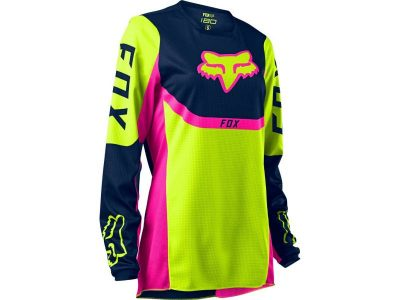 Дамска блуза WMNS 180 VOKE JERSEY FLUO YELLOW FOX