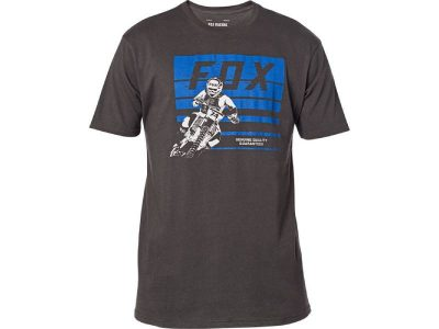 Тениска ADVANTAGE SS PREMIUM TEE BLACK VIN FOX