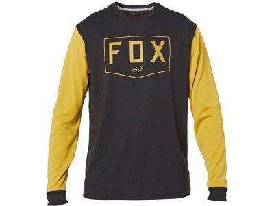 Блуза SHIELD LS TECH TEE BLACK YELLOW FOX