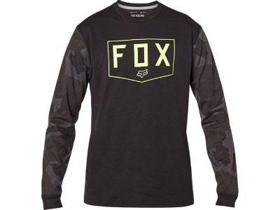 Блуза SHIELD LS TECH TEE BLACK CAMO FOX
