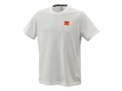Тениска PURE RACING TEE WHITE 3PW21001560 КТМ