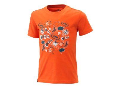 Детска тениска KIDS RADICAL TEE ORANGE 3PW21001600 KTM
