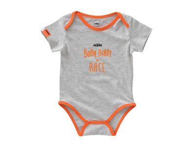 Бебешко боди BABY RADICAL BODY GREY MELANGE 3PW21002620 KTM