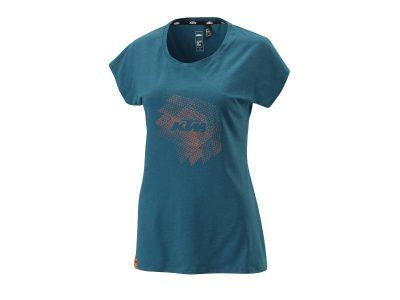 Дамска тениска WOMEN STYLE TEE BLUE 3PW21001980 КТМ