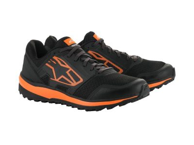 Обувки META TRAIL SHOES BLACK ORANGE ALPINESTARS