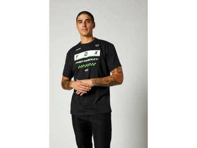 Тениска PC BLOCK SS TEE BLACK FOX