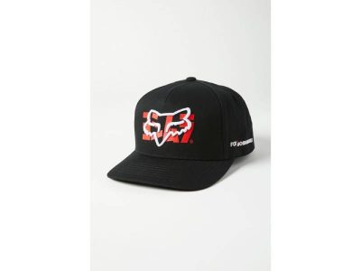 Шапка YOSHIMURA FOX SNAPBACK HAT BLACK FOX