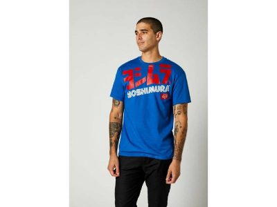 Тениска YOSHIMURA OVERSIZED SS TEE ROYAL BLUE FOX