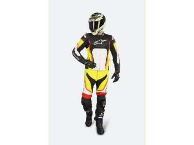 Костюм MOTEGI V2 2PC SUIT BLACK WHITE RED FLUO YELLOW FLUO ALPINESTARS