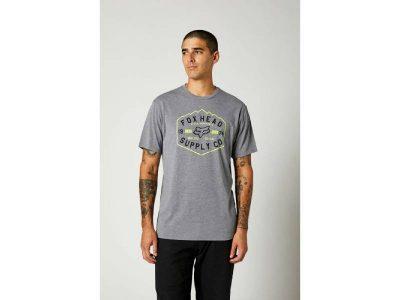 Тениска BACKBONE SS TECH TEE HTR/GRAPH FOX