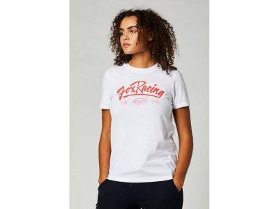 Дамска тениска CENTER STAGE BF TEE WHITE FOX