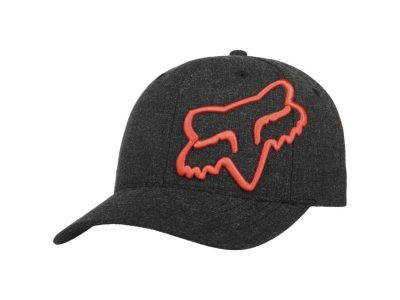 Шапка CLOUDED FLEXFIT 2.0 HAT BLACK ORANGE FOX