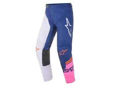RACER COMPASS PANTS Off White/Navy/Pink Fluo ALPINESTARS