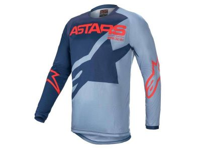 YOUTH RACER BRAAP JERSEY DARK BLUE/POWDE/BLUE/BRIGHT RED