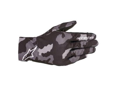 YOUTH REEF BLACK/GRAY CAMO GLOVES
