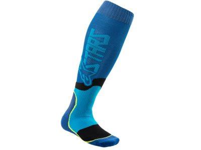 Чорапи MX PLUS-2 SOCKS BLUE CYAN ALPINESTARS