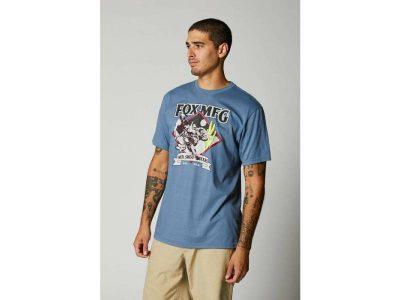 Тениска OASIS SS TEE MATTE BLUE FOX