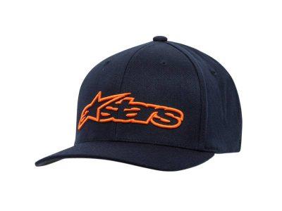 BLAZE FLEXFIT HAT BLUE RED ALPINESTARS