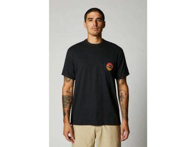 Тениска REVOLVER SS POCKET TEE BLACK FOX