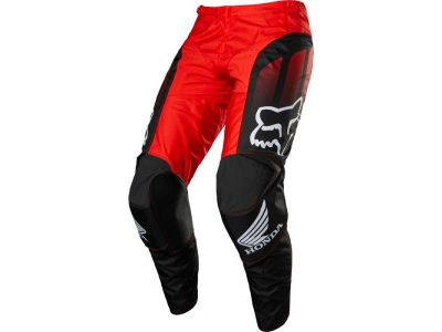 Панталон 180 HONDA PANT BLK/RD FOX